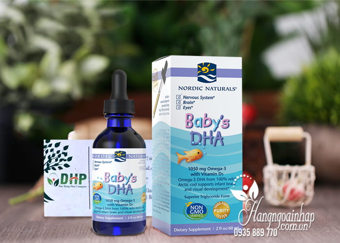 Siro Baby's DHA Omega-3 With Vitamin D3 Nordic Naturals 60ml 3