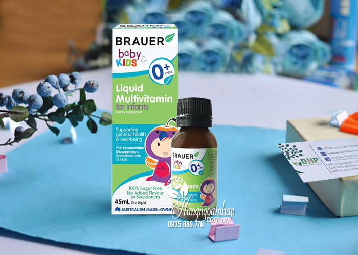 Siro Brauer Baby Kids Liquid Multivitamin For Infants 0+ 5