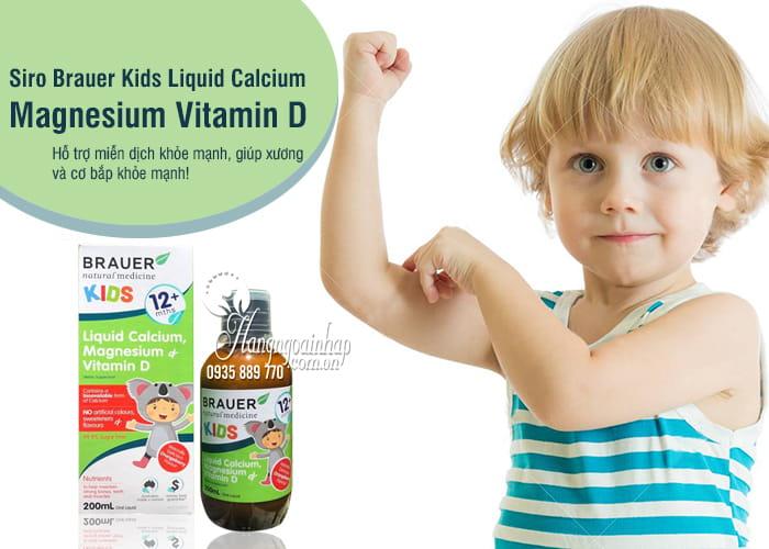 Siro Brauer Kids Liquid Calcium Magnesium Vitamin D 200ml 2