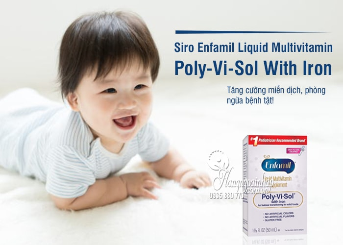 Siro Enfamil Liquid Multivitamin Poly-Vi-Sol With Iron 50ml 1