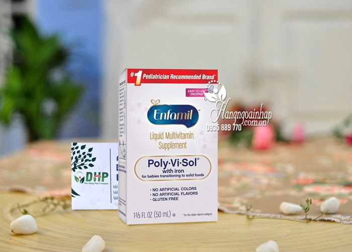 Siro Enfamil Liquid Multivitamin Poly-Vi-Sol With Iron 50ml 21