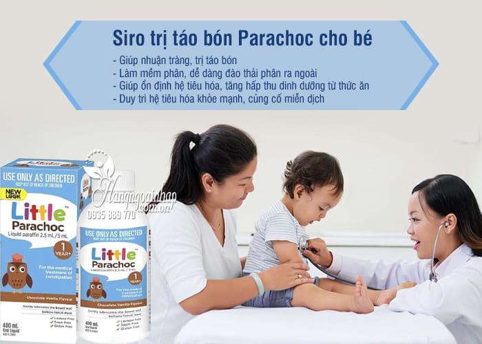Siro trị táo bón Parachoc cho bé trên 1 tuổi 400ml của Úc 6
