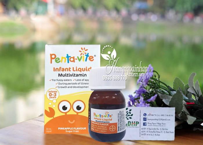 Siro vitamin tổng hợp cho bé Penta-Vite Infant Liquid (0-3 tuổi) 8