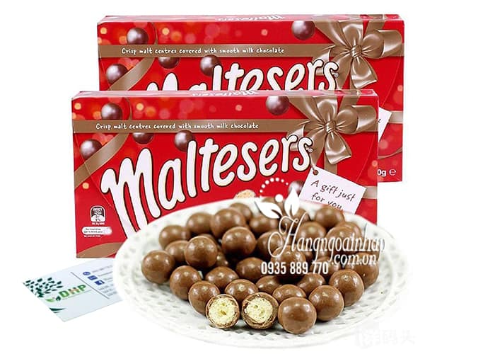 Kẹo socola Maltesers 360g hộp quà tặng chính hãng từ Úc 45