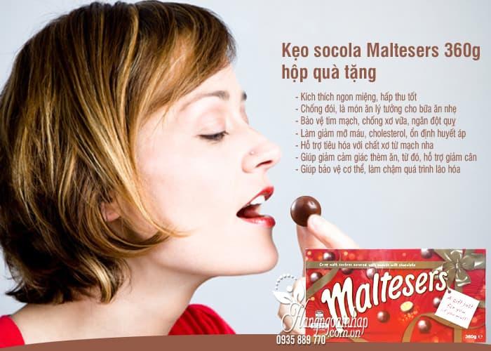 Kẹo socola Maltesers 360g hộp quà tặng chính hãng từ Úc 1