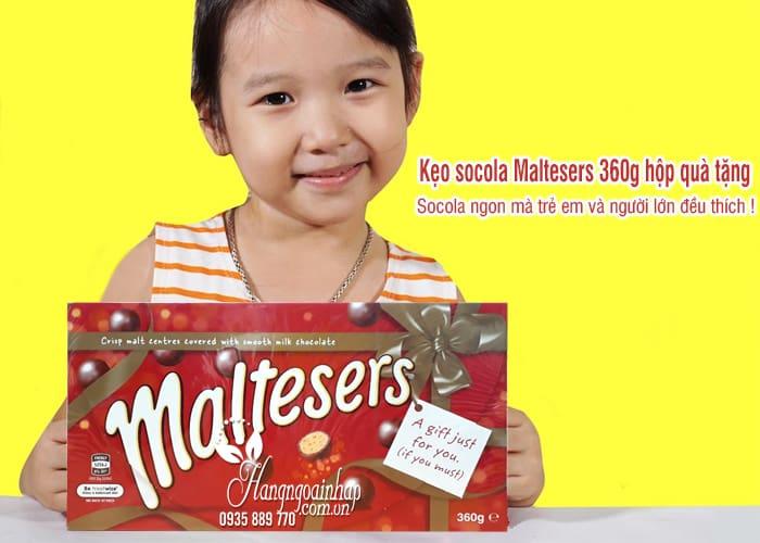 Kẹo socola Maltesers 360g hộp quà tặng chính hãng từ Úc 4