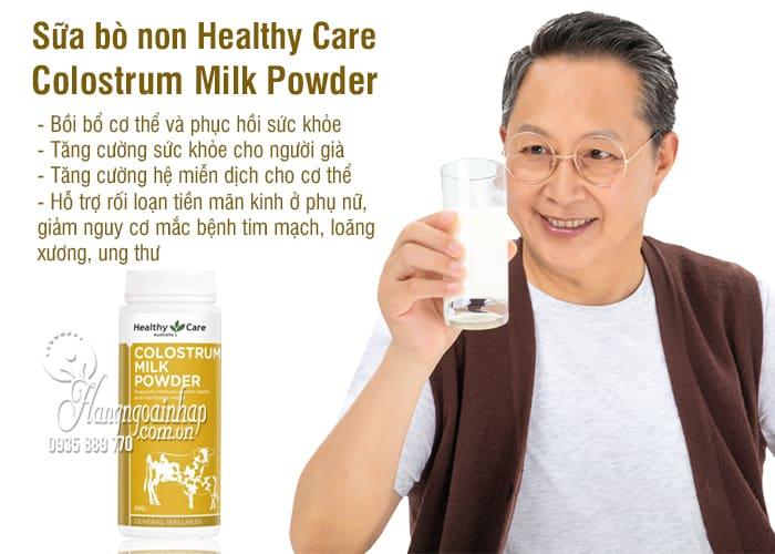 Sữa bò non Healthy Care Colostrum Milk Powder  300g của Úc 0