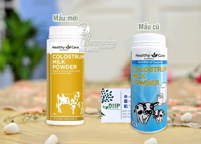 Sữa bò non Healthy Care Colostrum Milk Powder  300g của Úc 1