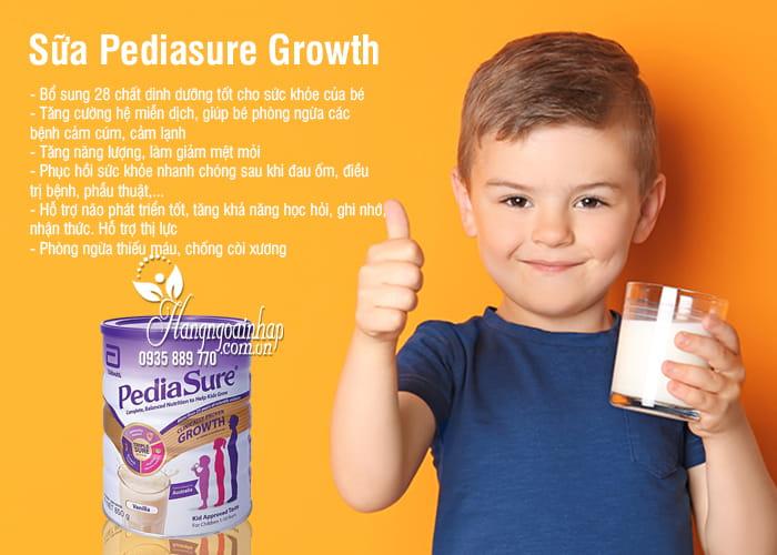 Sữa Pediasure Growth 850g cho trẻ từ 1-10 tuổi của Úc 2