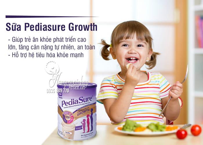 Sữa Pediasure Growth 850g cho trẻ từ 1-10 tuổi của Úc 1