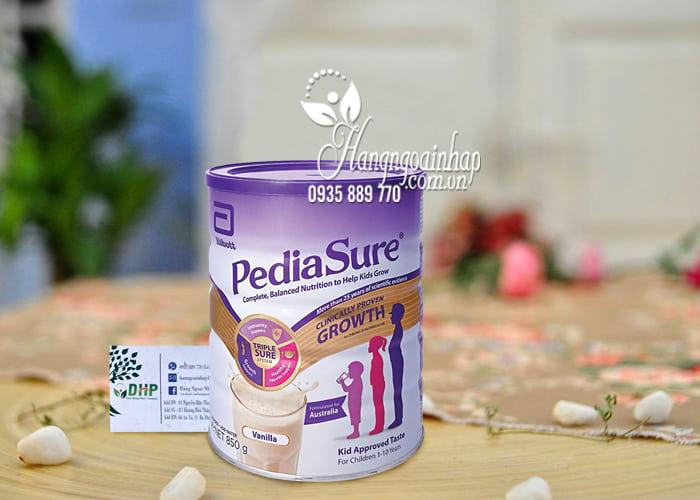 Sữa Pediasure Growth 850g cho trẻ từ 1-10 tuổi của Úc 8
