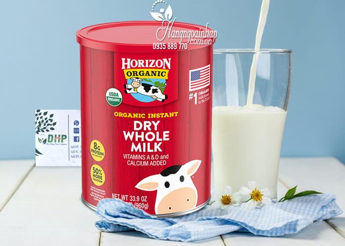 Sữa tươi nguyên kem Horizon Organic Dry Whole Milk 960g 1