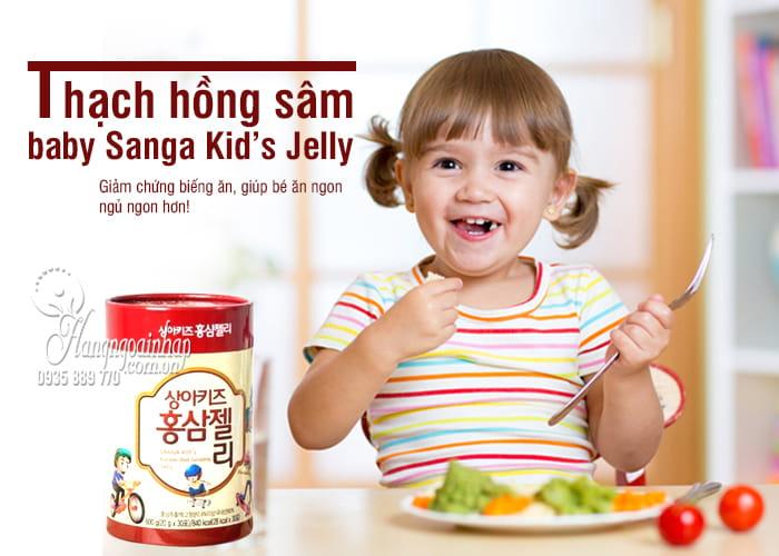 Thạch hồng sâm baby Sanga Kid's Jelly 600g Hàn Quốc 1
