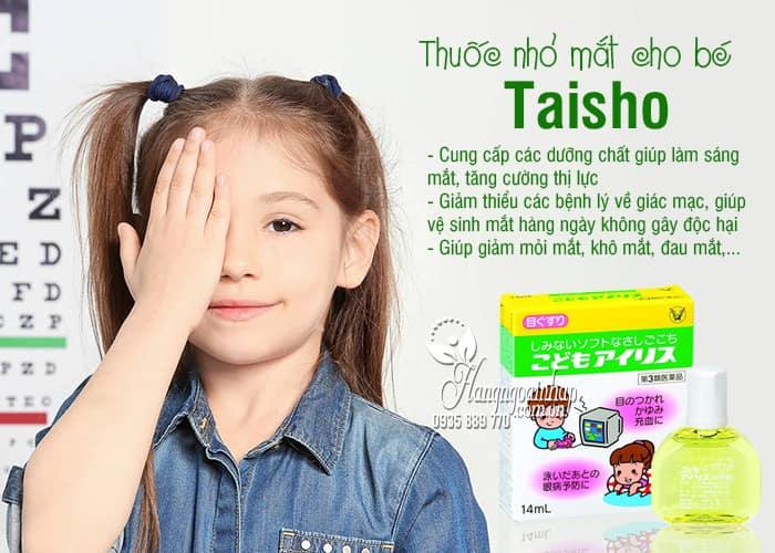 Thuốc nhỏ mắt cho bé Taisho 14ml nội địa Nhật Bản 1