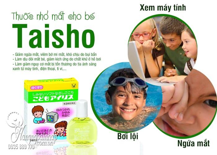 Thuốc nhỏ mắt cho bé Taisho 14ml nội địa Nhật Bản 6