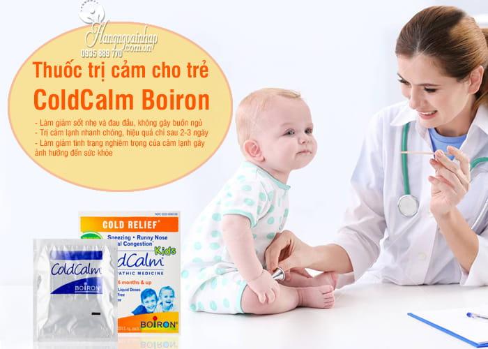 Thuốc trị cảm ColdCalm Boiron cho trẻ từ 6 tháng tuổi 2
