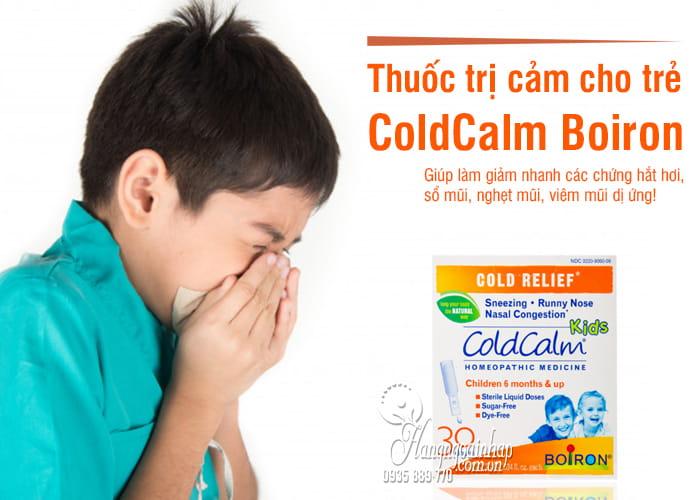 Thuốc trị cảm ColdCalm Boiron cho trẻ từ 6 tháng tuổi 1