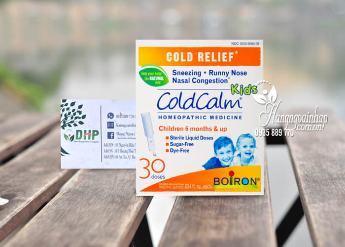 Thuốc trị cảm ColdCalm Boiron cho trẻ từ 6 tháng tuổi 3