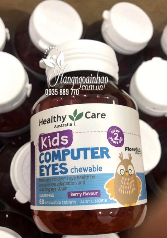Viên bổ mắt cho bé Healthy Care Kids Computer Eyes 60 viên 0