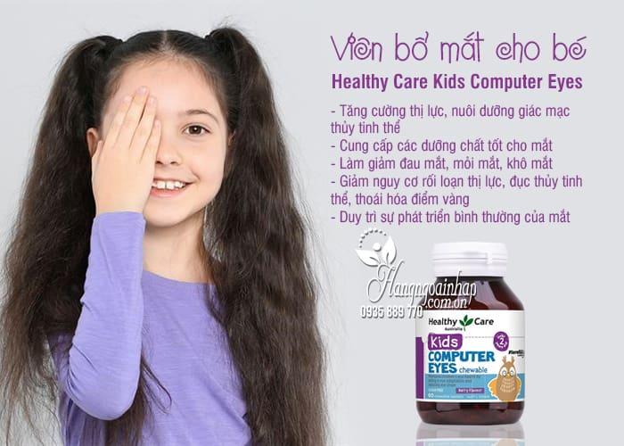 Viên bổ mắt cho bé Healthy Care Kids Computer Eyes 60 viên 8