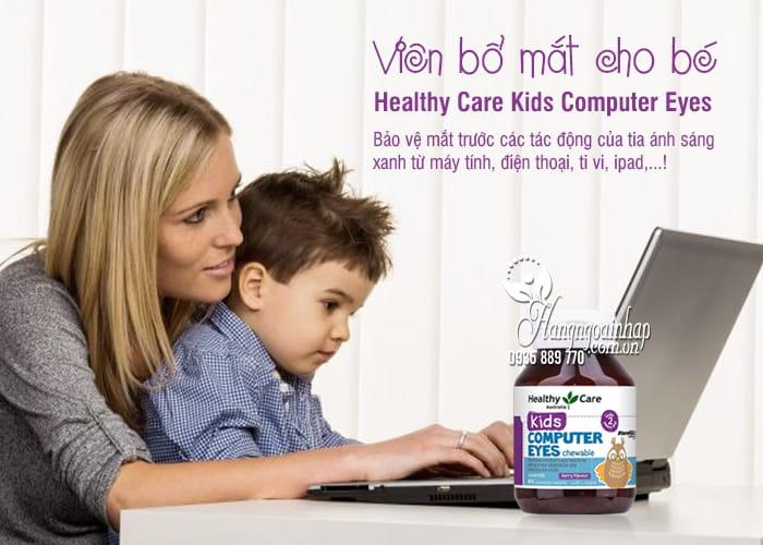 Viên bổ mắt cho bé Healthy Care Kids Computer Eyes 60 viên 2
