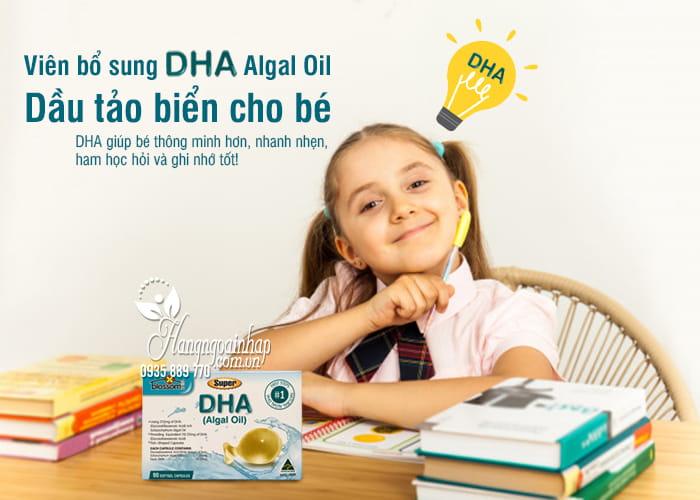 Viên bổ sung DHA Algal Oil - Dầu tảo biển cho bé từ 1 tuổi 1