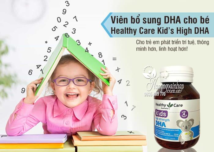 Viên bổ sung DHA cho bé Healthy Care Kid's High DHA 60 viên 4