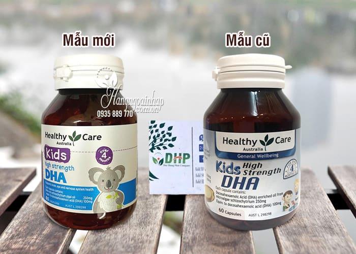 Viên bổ sung DHA cho bé Healthy Care Kid's High DHA 60 viên 2