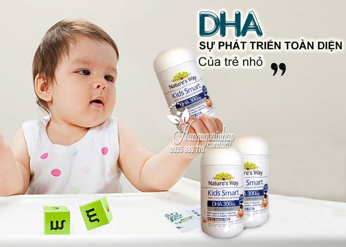 Viên nhai Natures Way Kids Smart DHA 300mg Triple Strength 2
