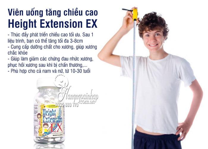 Viên uống tăng chiều cao Height Extension EX 300mg Nhật Bản 9