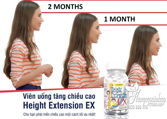 Viên uống tăng chiều cao Height Extension EX 300mg Nhật Bản 1