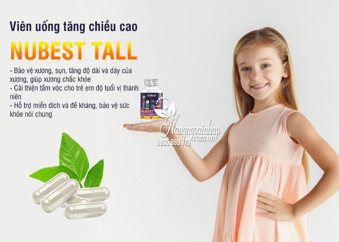 Viên uống tăng chiều cao Nubest Tall 60 viên cho bé từ 10 tuổi 7
