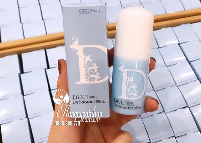Lăn khử mùi DHC Deodorant Stick 20g của Nhật Bản 5