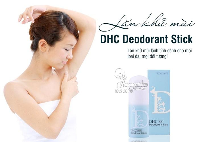 Lăn khử mùi DHC Deodorant Stick 20g của Nhật Bản 1