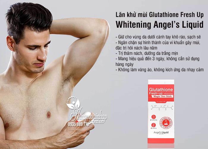 Lăn khử mùi Glutathione Fresh Up Whitening Angel's Liquid 3