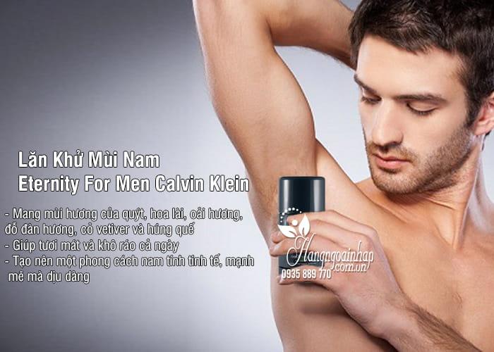 Lăn Khử Mùi Nam Eternity For Men Calvin Klein Của Mỹ 1