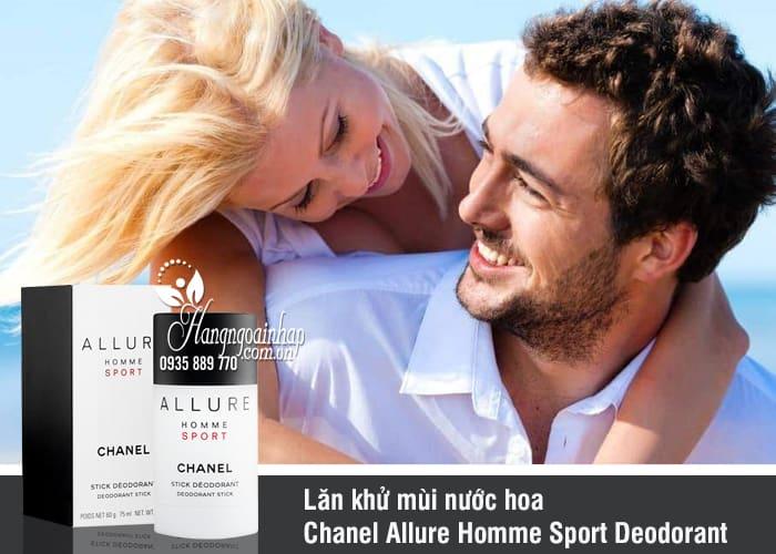 Lăn khử mùi nước hoa Chanel Allure Homme Sport Deodorant 3