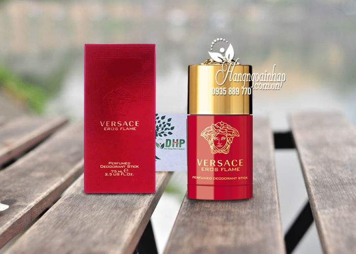 Lăn khử mùi nước hoa nam Versace Eros Flame 75ml màu đỏ 1