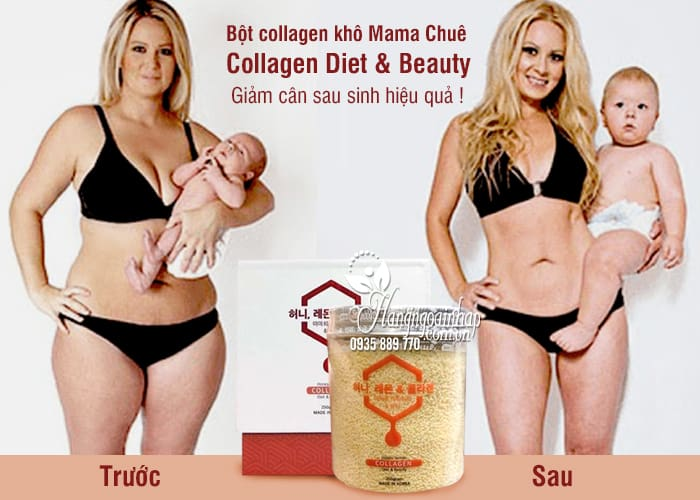 Bột collagen khô Mama Chuê Collagen Diet & Beauty 250g 2