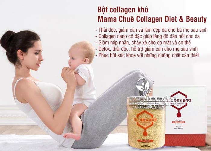 Bột collagen khô Mama Chuê Collagen Diet & Beauty 250g 3