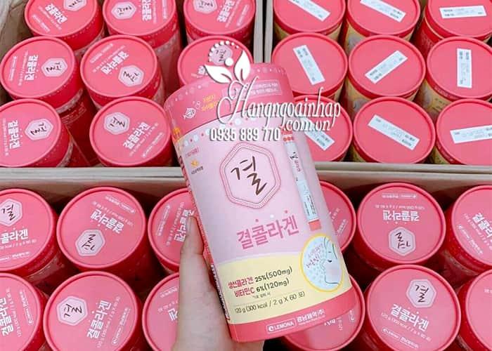 Bột uống Collagen Lemona của Hàn Quốc 60 gói 9