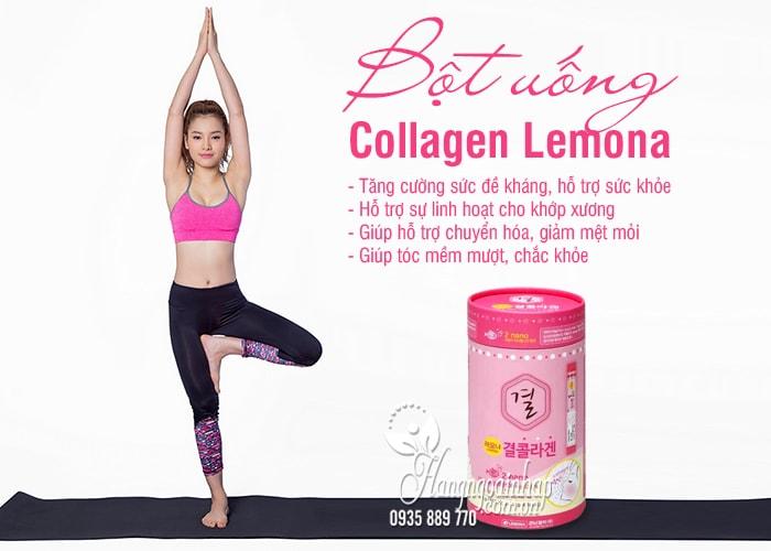 Bột uống Collagen Lemona của Hàn Quốc 60 gói 4