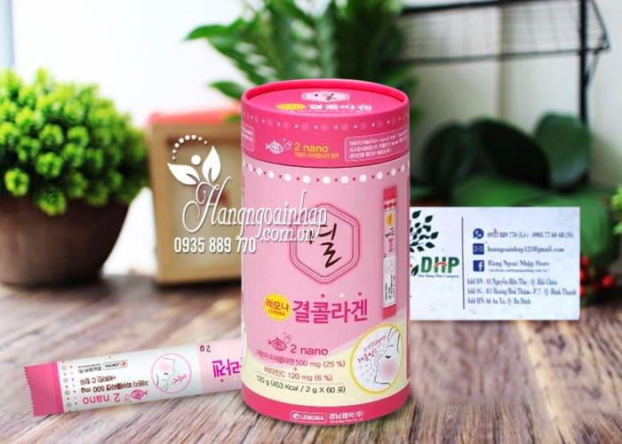 Bột uống Collagen Lemona của Hàn Quốc 60 gói 8
