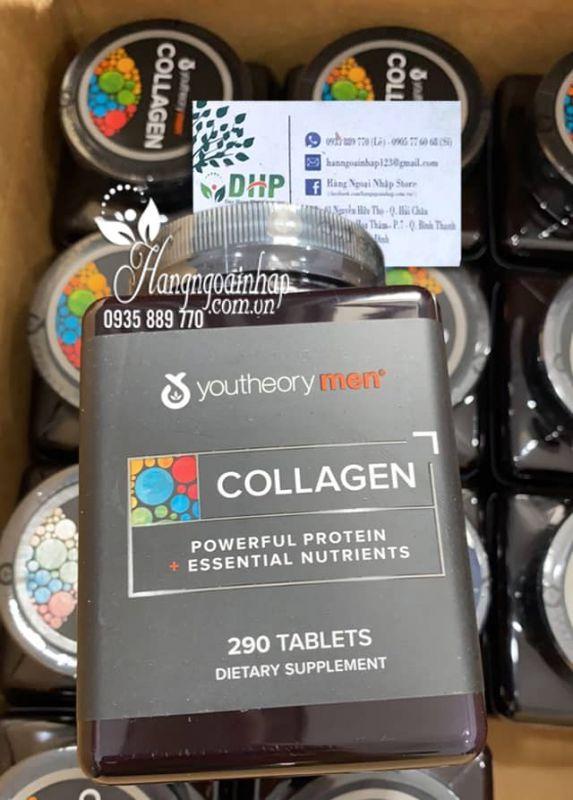 Collagen cho nam - Youtheory Mens Collagen 290 viên của Mỹ 9