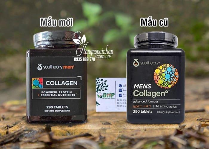 Collagen cho nam - Youtheory Mens Collagen 290 viên của Mỹ 8