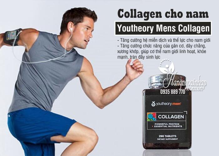 Collagen cho nam - Youtheory Mens Collagen 290 viên của Mỹ 4