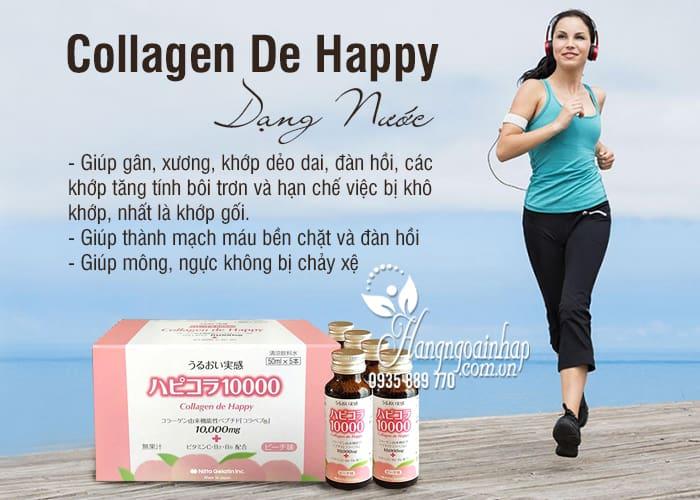 Collagen De Happy Dạng Nước Uống Hộp 10 Lọ 50ml  5