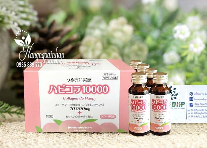 Collagen De Happy Dạng Nước Uống Hộp 10 Lọ 50ml  0
