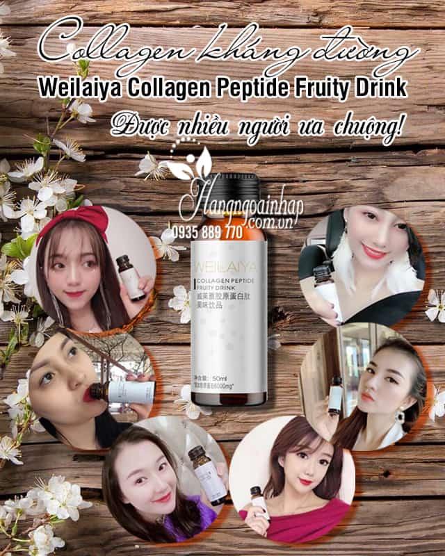 Collagen kháng đường Weilaiya Collagen Peptide Fruity Drink 1