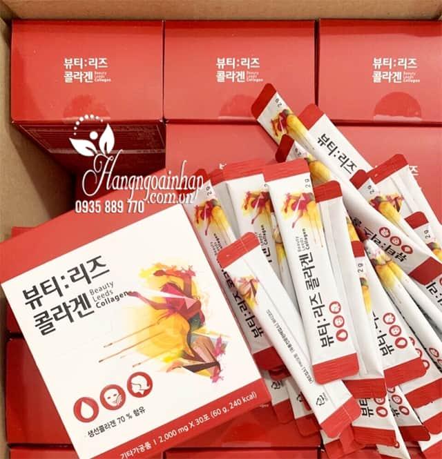 Collagen nhụy hoa nghệ tây Beauty Leeds Collagen Hàn Quốc 7